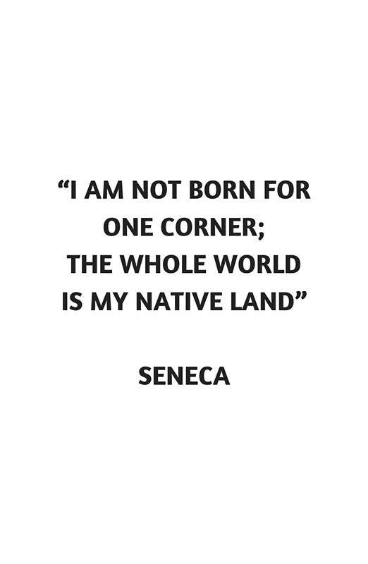 Stoic Philosophy Quote Lucius Annaeus Seneca I Am Not Born For