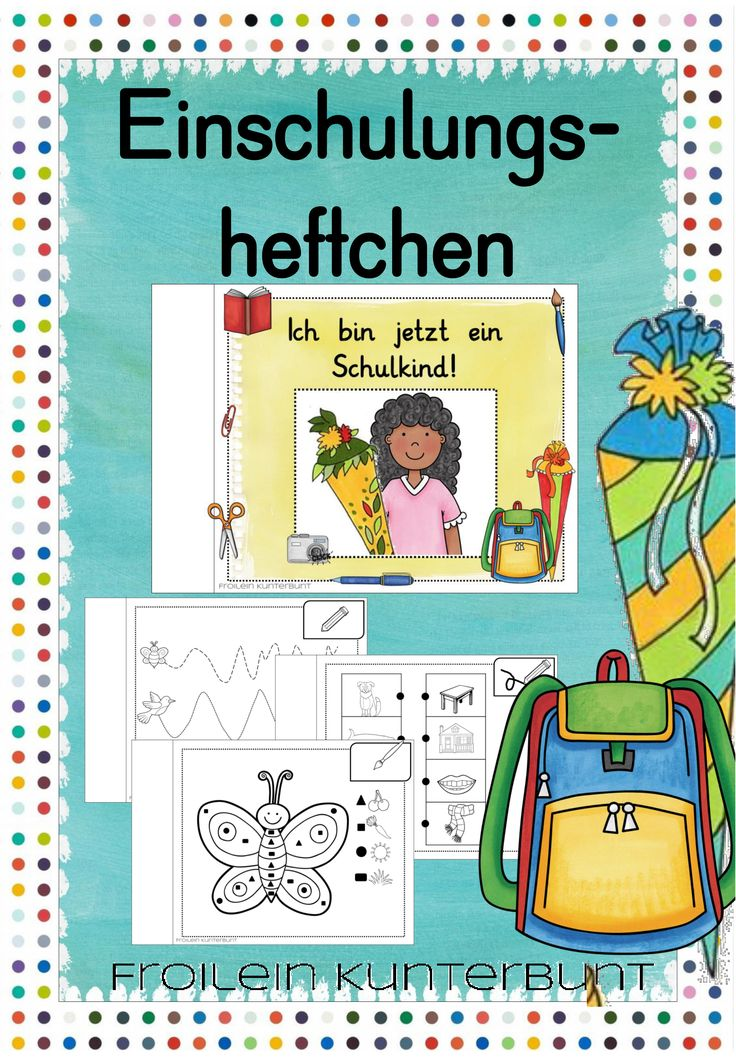 Einschulungsheftchen – Teaching material in the subjects German & Interdisciplinary & Mathematics