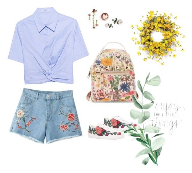 """""""Flower power"""" by masulen on Polyvore featuring Gucci, Steve Madden i T By Alexander Wang"""