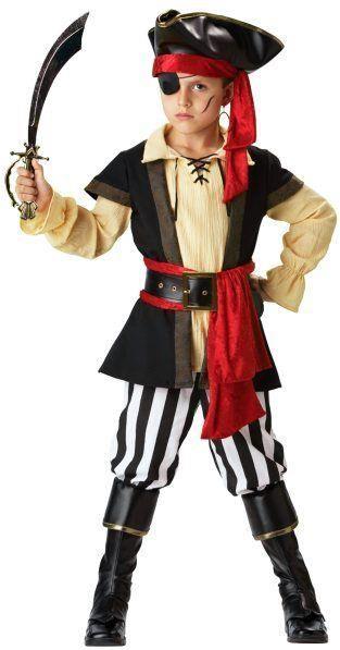 Новогодний костюм пирата детям сделать самим