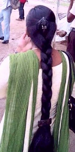 Thick long braid | indian braided hair | Flickr