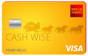 Wells Fargo Cash Wise Visa | Credit Card | The no-annual-fee Wells Fargo Cash Wise Visa® Credit Card offers unlimited 1.5 percent cash back on all your purchases. A 0 percent APR offer for purchases and balance transfers in the first 12 months make this a solid card choice in the flat-rate credit card market.