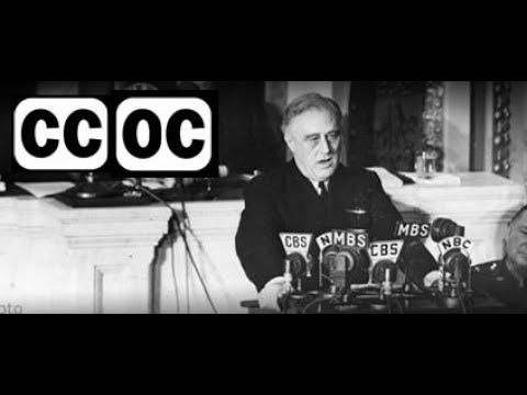 1941, December 9 – FDR – Fireside chat #19 – Pearl Harbor Address to the Nation – open captioned – The Closed Captioning Project LLC, sponsored by Accurate Secretarial LLC