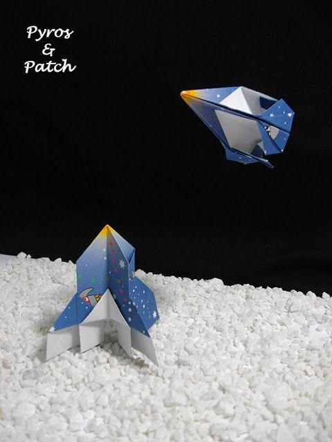 Pyros & Patch: Origami volanti #2