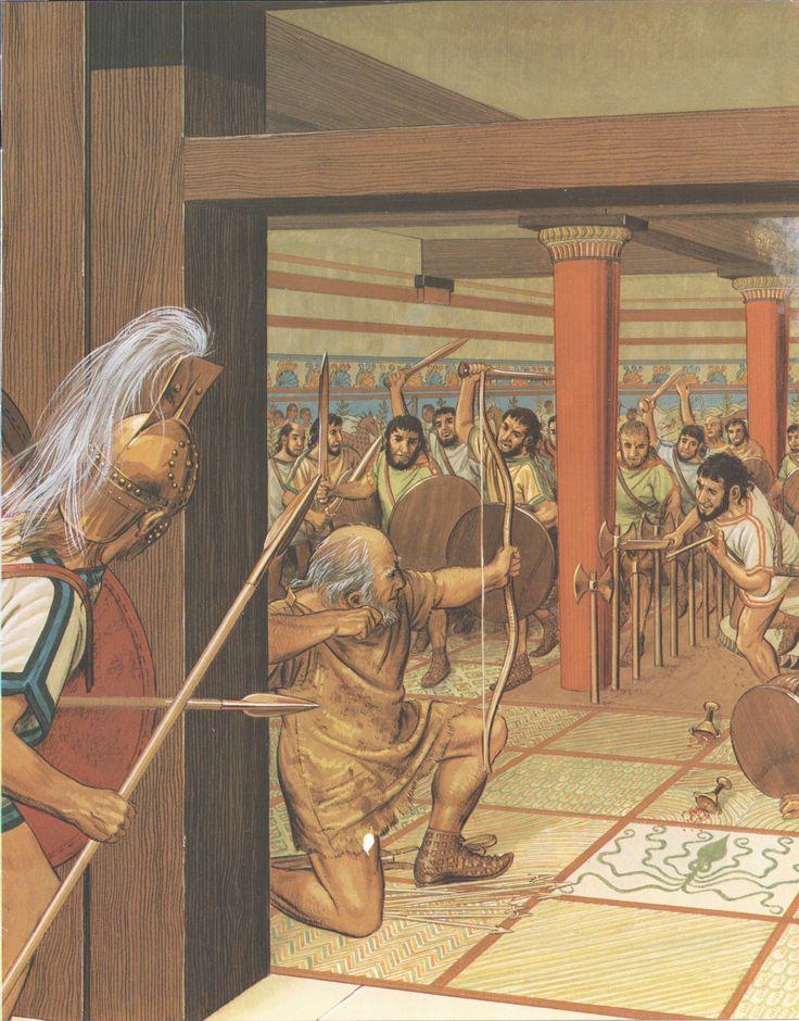 Odyssey Book 22