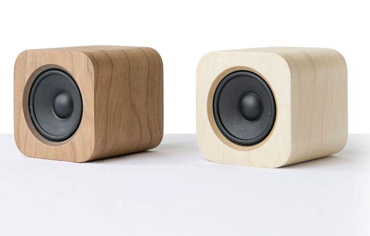 Unscheinbare Soundbox aus Holz kann mehr als man vermuten würde