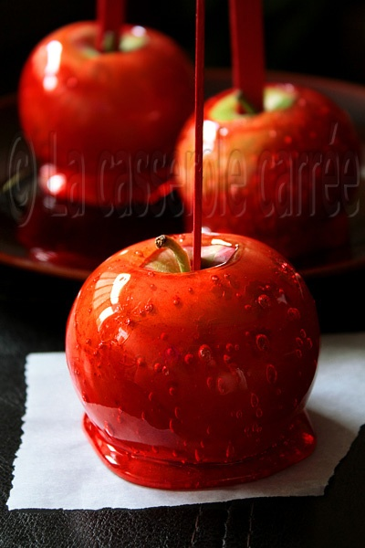 French Candy Apples