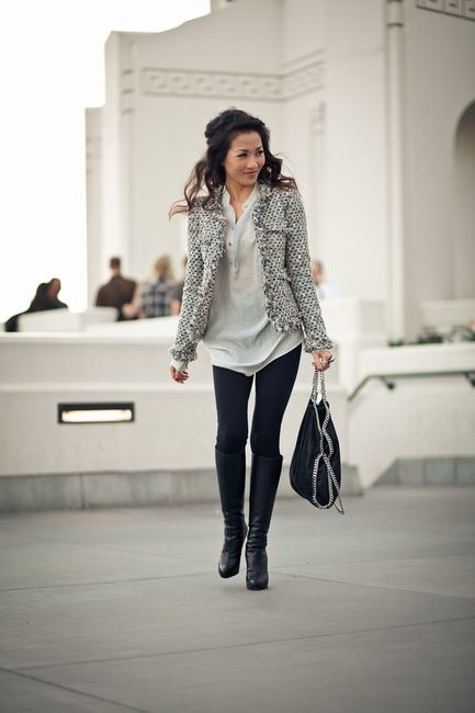 What to and What Not to Wear With a Tweed Jacket   Glam Bistro