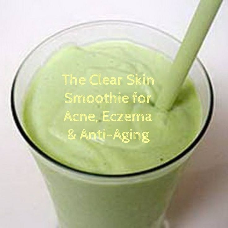 This smoothie for better skin is designed to provide plenty of the nutrition your skin needs to look its best. The recipe is full to bursting with antioxidants, healthy fats and specific nutrients to help prevent and treat acne, eczema and other forms of