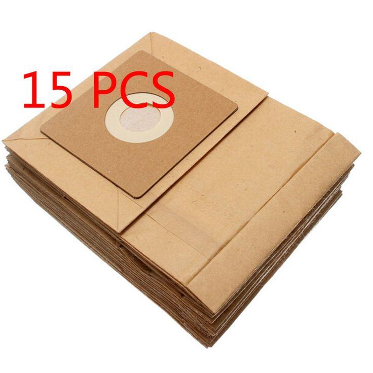 15 Pcs General Vacuum cleaner dust paper bags 100*110mm Diameter 50mm Vacuum cleaner accessories parts