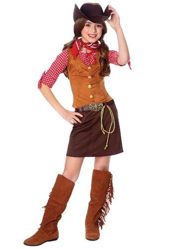 western girls gun slinger costume - Halloween Costumes For Girls 11