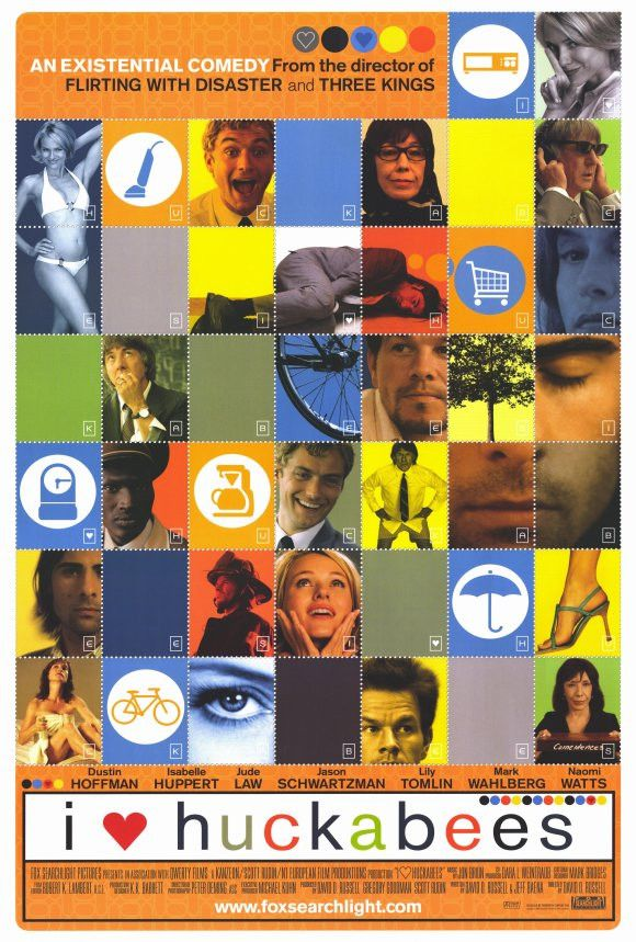 I Heart Huckabees 27x40 Movie Poster (2004)