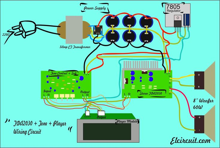 35 best amplifier images on Pinterest | Electronic circuit ...