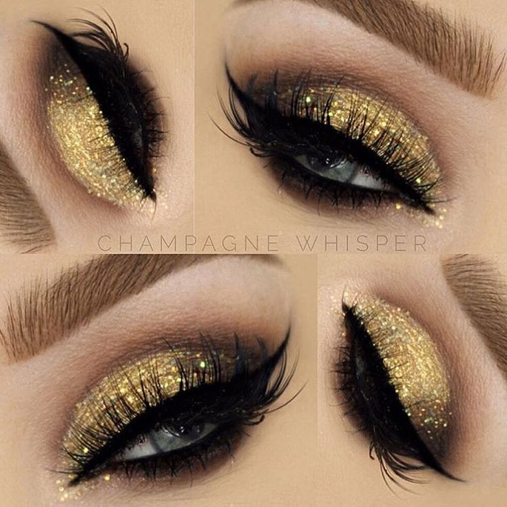 """16.6k Likes, 49 Comments - DOSE of COLORS (@doseofcolors) on Instagram: """"Golden tones on these lovely peepers @champagnewhisper ✨✨@doseofcolors """"Lucky Star"""" Eyedeal Duo on…"""""""