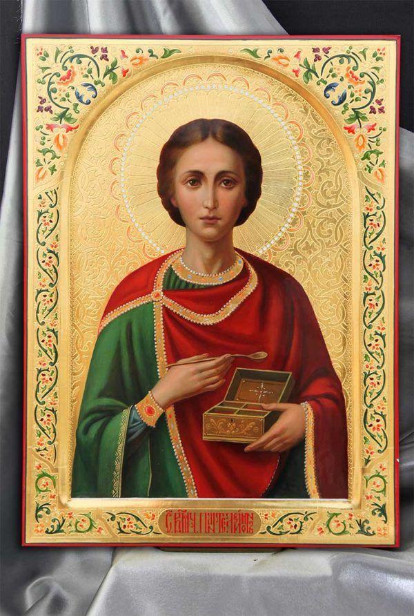 святой пантелеймон картинки русский текста