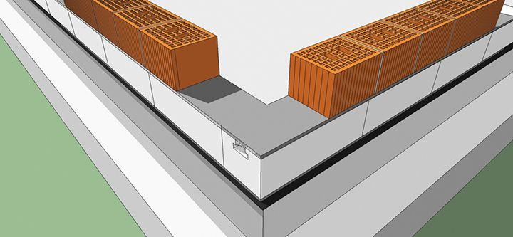 Il nuovo blocco Ytong Taglio Termico TT per la correzione dei ponti termici