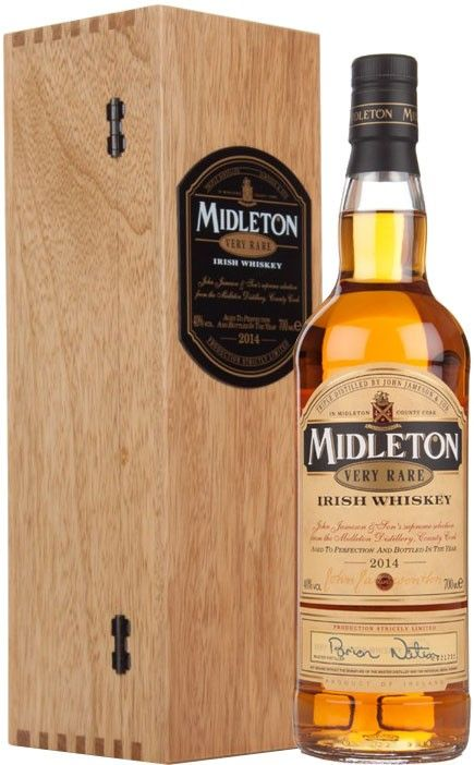 Midleton Very Rare Irish Whiskey.  Distilled and matured by Barry Crockett, this #whisky earned the Double Gold Medal at the San Francisco World Spirits Competition. | @Caskers