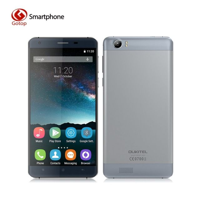 Original OUKITEL K6000 Android 5.1 Smartphone MT6735P 1280 x 720 2G RAM 16G ROM Mobile Phone 5.5 Inch 6000mAh 4G LTE Cell Phone US $114.99-119.99 /piece To Buy Or See Another Product Click On This Link  http://goo.gl/EuGwiH