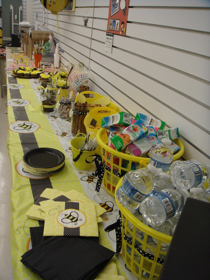54 Best Childrens Birthday Party Ideas Bumble Bee Theme Images