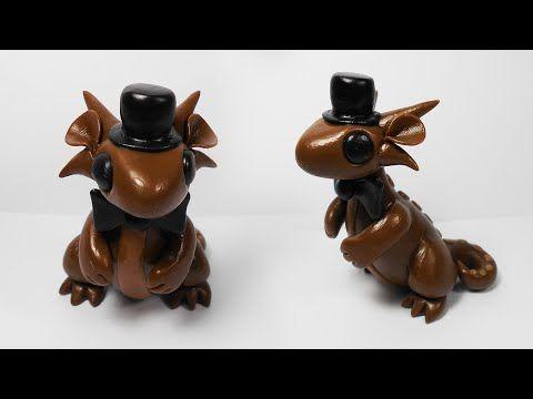 FREDDY DRAGON TUTORIAL ✔ Polymer Clay ✔ Porcelana Fría ✔ Plastilina - YouTube