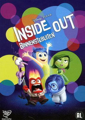 Inside out = Binnenstebuiten - Pete Docter, Ronnie del Carmen