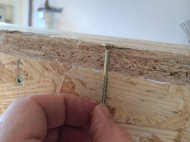 Fußboden Osb Platten ~ Osb platte verschrauben diy wood in holz möbel und