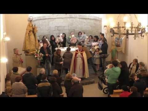 Presentación de los niños a la Virgen de Bueyo  en Albelda de Iregua 2017