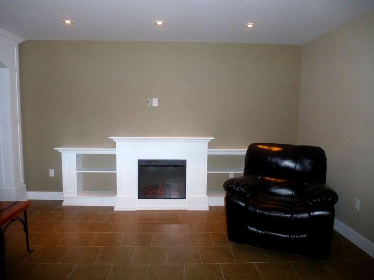 Electric Fire Place with Jeldwen Mouldings. PPG Paint Color : Ashen. Available at HubCraft & 9 best Interior Doors \u0026 Mouldings (Trims) images on Pinterest ... Pezcame.Com