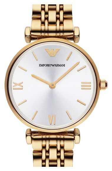 Emporio Armani Round Watch, 32mm available at #Nordstrom