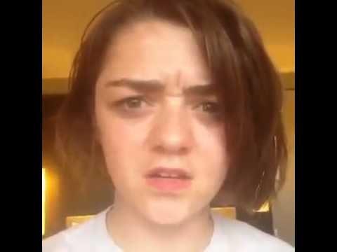 Maisie Williams Arya Stark Vine videos HD - YouTube