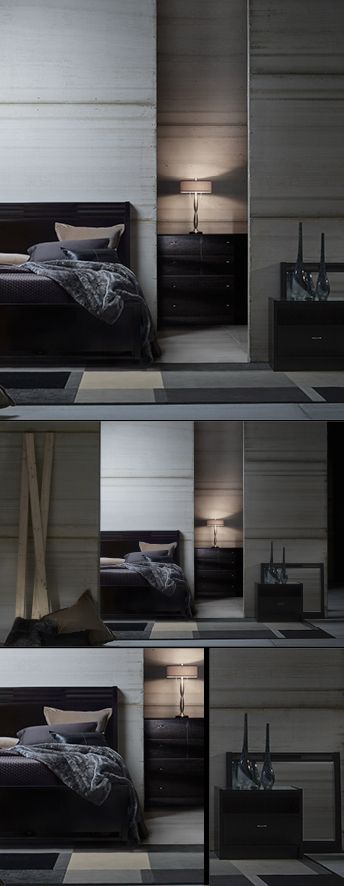 Luxury at every level: Our $1,000 bedroom celebrates sleek modern style with major value.