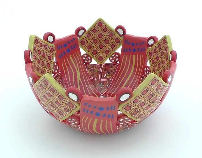 1-22 - Medium bowl, 1 3/4 inches tall x 3 1/4 inches diameter by Emily Squires Levine