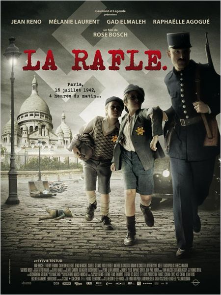 "La Rafle, Roselyne Bosch, 2010......A Jewish family struggle to survive in the horrific conditions of detainment after being arrested in the ""Vel d'Hiv,"" the infamous round-up of Parisian Jews in 1942 France"
