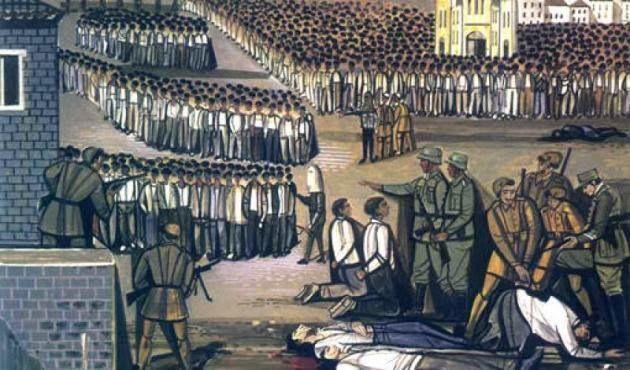 22 παλληκάρια εκτελέστηκαν επί τόπου στο Μπλόκο της Καλογρέζας