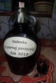 Czary mary gotuje Cezary: Nalewka z czarnej porzeczki według przepisu Czarka...