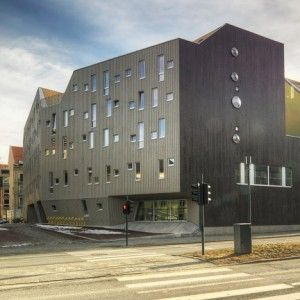 MySpace student housing in Trondheim  by MEK Architects
