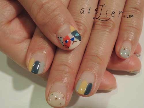 ZOZOPEOPLE | atelier/kolmio +LIM - コト #ネイル #nails #猫