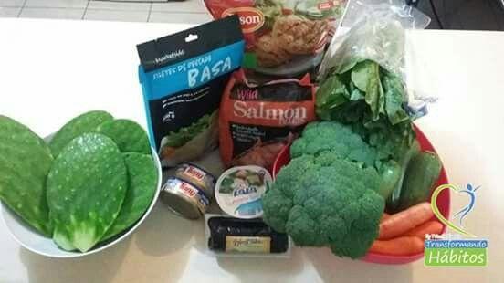 No olvidemos lo importante que es la proteína y los vegetales!