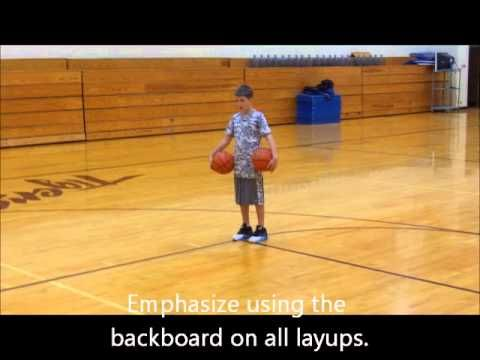 You can teach a layup using right and left hand in just 5 minutes using these easy steps with two basketballs. We have had much success with kids as young as...