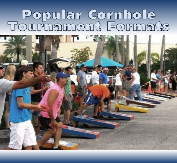 What are the best cornhole tournament formats to determine a winner? Learn the pros and cons to the most popular cornhole tournament formats.