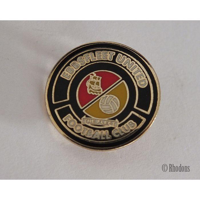 Ebbsfleet United Football Club Enamel Pin Badge