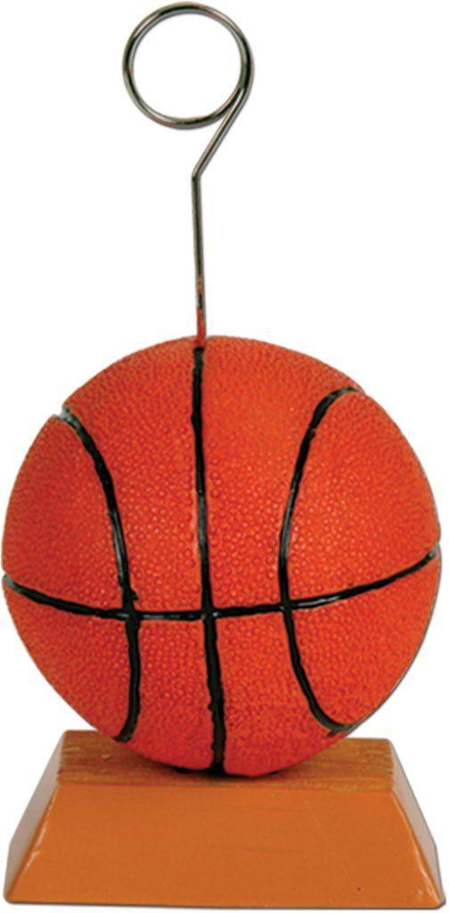 Basketball Photo/Balloon Holder (Case of 12)