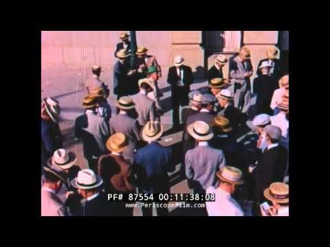 BEHIND THE TICKER TAPE  1950s STOCK MARKET FILM (Color Vers.) 87554
