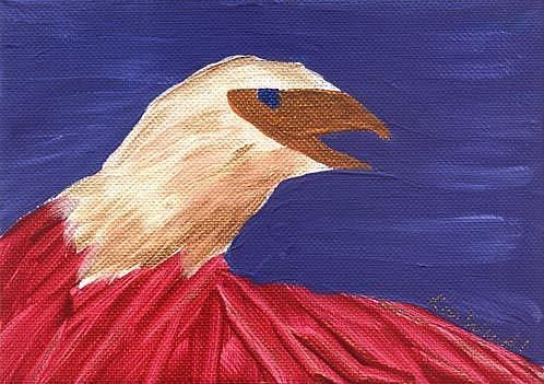 Art: Eagle #2 by Artist Kim Wyatt