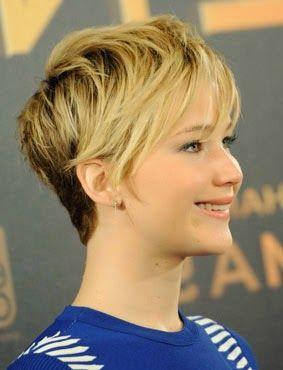 Qual é o corte de cabelo da Jennifer Lawrence?