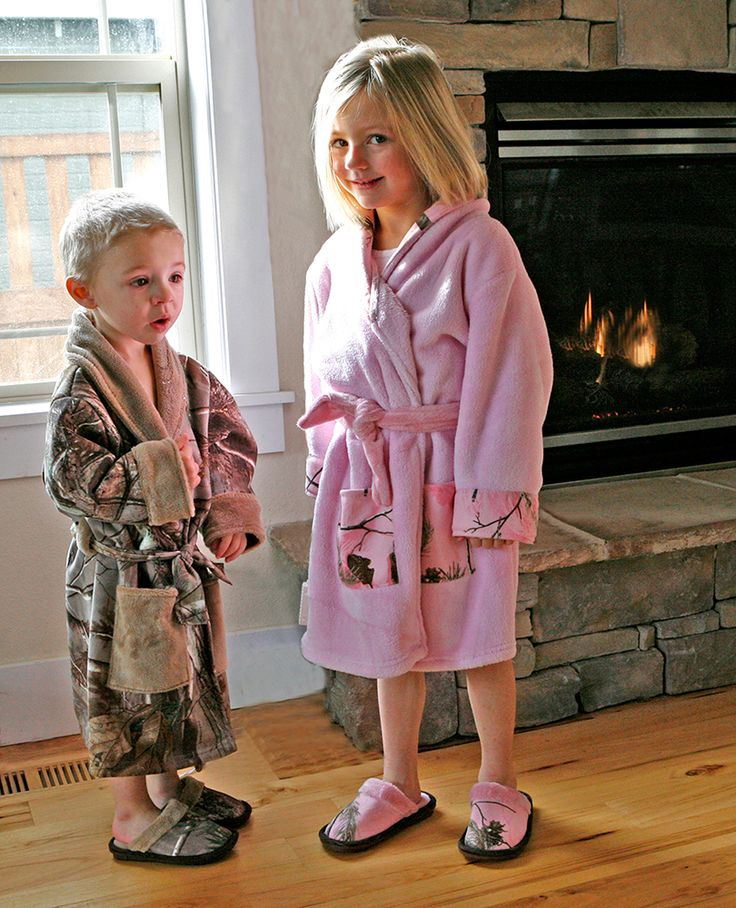 Realtree Camo Kid's Robes #realtree #camo #kidrobes