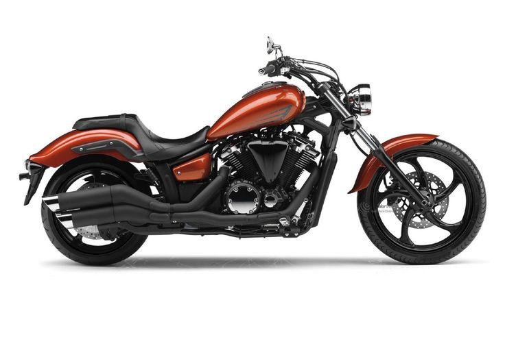 Yamaha XVS1300 Custom.    http://bladegroupyamaha.co.uk/yamaha/new-yamaha/bikes/Cruisers/2014yamxvs1300custom.htm#.VfR99vlVhBc