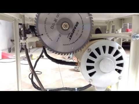 """Mini serra de bancada """"Arteirinha"""" (Table Saw Homemade) - YouTube"""