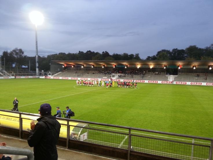 Gazi-Stadion, Stuttgart (25.09.2012 - VfB Stuttgart II - FC Hansa Rostock)