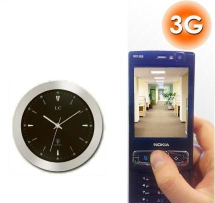 Hidden Camera Wall Clock - SEE THE WORLD'S BEST COVERT HIDDEN CAMERAS AT http://www.spygearco.com/secureguard-elite-cameras.php